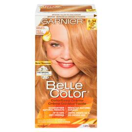Garnier Belle Color Crème Couleur Facile Permanent 8.34 Blond Miel Clair
