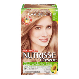 Garnier Nutrisse Cream Crème Colorante Nutritive Permanent 800 Blond Neutre Moyen