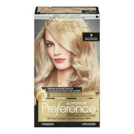 L'Oréal Paris Superior Preference Coloration Haut de Gamme Permanent 9 Hollywood Blond Clair