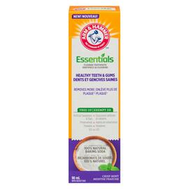 Arm & Hammer Essentials Dentifrice au Fluorure Dents et Gencives Saines Menthe Fraîche 90 ml