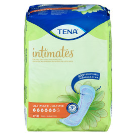 TENA Intimates Ultime 10 Serviettes