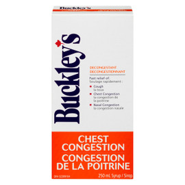Buckley Décongestionnant Bronchique Toux Congestion Bronchique 250 ml