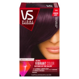 Vidal Sassoon Pro Series London Luxe Ultra Vibrant Color Permanent 3VR Violet Foncé Velouté
