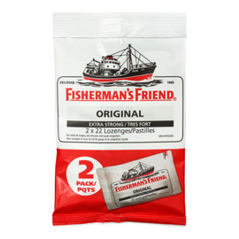 Fisherman's Friend Original Tres Fort 2 Pqts x 22 Pastilles
