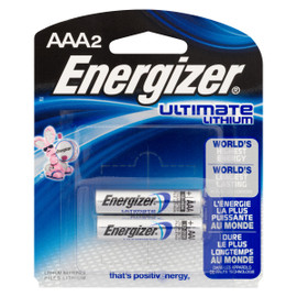 Energizer Ultimate Lithium Piles Lithium AAA2
