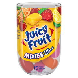 Juicy Fruit Mixies Gomme Sans Sucre 15 Morceaux