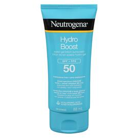 Neutrogena Hydro Boost Lotion Écran Solaire Hydro-Gel FPS 50 88 ml
