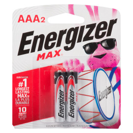 Energizer Max Piles Alcalines AAA2