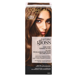 L'Oréal Paris Le Color Gloss Rehausseur de Tons en Une Étape Brunette Riche 118 ml