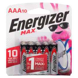 Energizer Max Piles Alcalines AAA10