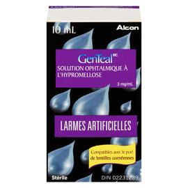 GenTeal Larmes Artificielles Solution Ophtalmique à l'Hypromellose 3 mg/ml 10 ml