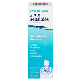 Bausch & Lomb Yeux Sensibles Solution Polyvalente 120 ml