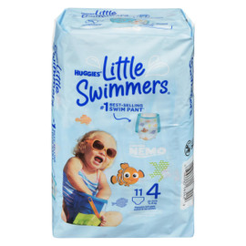 Huggies Little Swimmers 11 Maillots de Bain Jetables M 11-15 kg