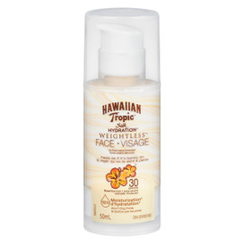 Hawaiian Tropic Silk Hydration Weightless Écran Solaire Sans Huile Visage 30 FPS 50 ml