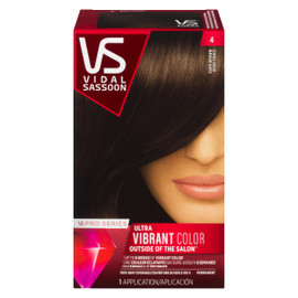 Vidal Sassoon Pro Series Ultra Vibrant Color Permanent 4 Brun Foncé