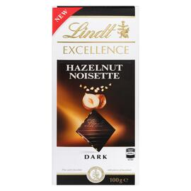Lindt Excellence Chocolat Noir Roasted Noisette 100 g