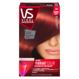 Vidal Sassoon Pro Series London Luxe Ultra Vibrant Color Permanent 5RR Rouge Merlot Éclatant