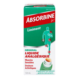 Absorbine Jr. Liniment Original Liquide Analgésique 120 ml
