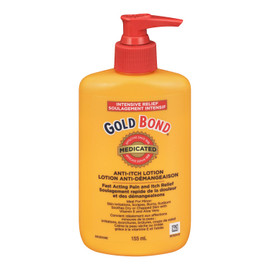 Gold Bond Medicated Lotion Anti-Démangeaison Soulagement Intensif 155 ml
