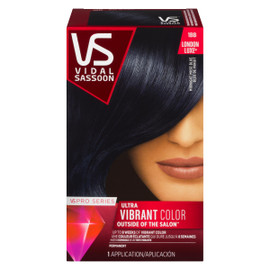 Vidal Sassoon Pro Series London Luxe Ultra Vibrant Color Permanent 1BB Bleu de Minuit