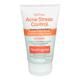 Neutrogena Exfoliant Éclaircissant Oil-Free Acne Stress Control 125 ml