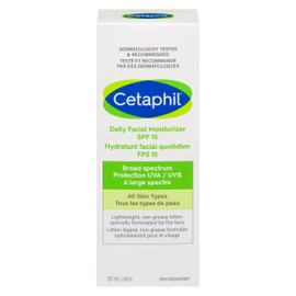 Cetaphil Lotion Hydratant Facial Quotidien FPS 15 Sensible 120 ml