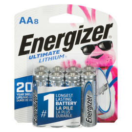 Energizer Ultimate Lithium Piles Lithium AA8