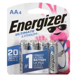 Energizer Ultimate Lithium Piles Lithium AA4