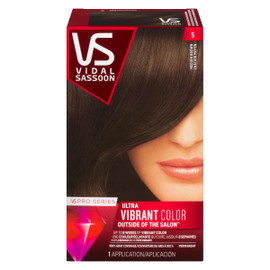 Vidal Sassoon Pro Series Ultra Vibrant Color Permanent 5 Châtain Moyen