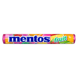 Mentos The Chewy Mint Fruit 37 g