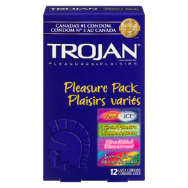 Trojan Plaisirs Variés 12 Condoms Latex