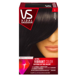 Vidal Sassoon Pro Series Ultra Vibrant Color Permanent 1 Noir Profond