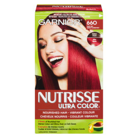 Garnier Nutrisse Ultra Color Couleur Vibrante Permanent 660 Rouge Flamboyant
