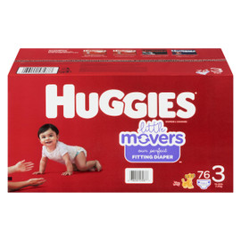 Huggies Little Movers Couches 3 7-13 kg 76 Couches