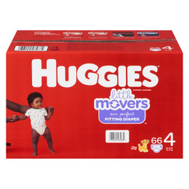 Huggies Little Movers Couches 4 10-17 kg 66 Couches