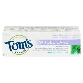 Tom's of Maine Whole Care Dentifrice Menthol 85 ml