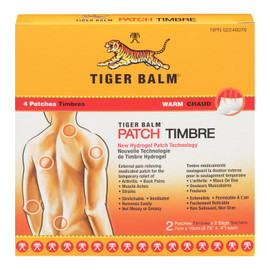 Tiger Balm 4 Timbres Chaud