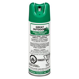 Great Outdoors Repellent Insectifuge Sous Pression 175 g