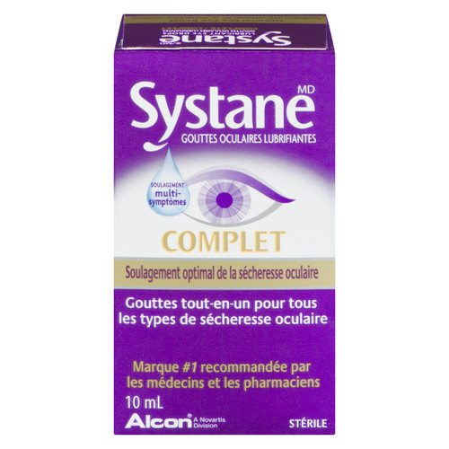 Systane Complet Gouttes Oculaires Lubrifiantes 10 ml
