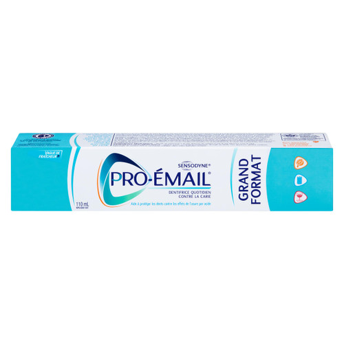 Sensodyne Pro-Émail Dentifrice Quotidien Contre la Carie Grand Format 110 ml