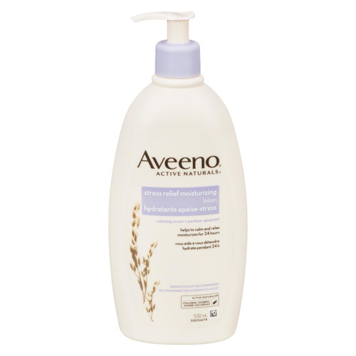 Aveeno Active Naturals Lotion Hydratante Apaise-Stress 532 ml