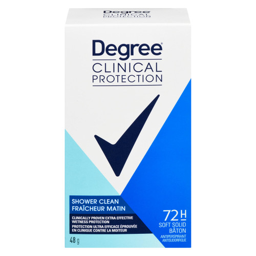 Degree Clinical Protection Antisudorifique Fraîcheur Matin 48 g