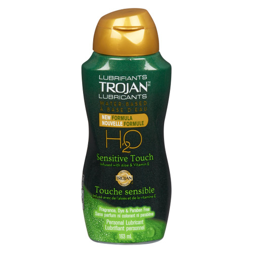 Trojan Lubrifiant Personnel Touche Sensible 163 ml
