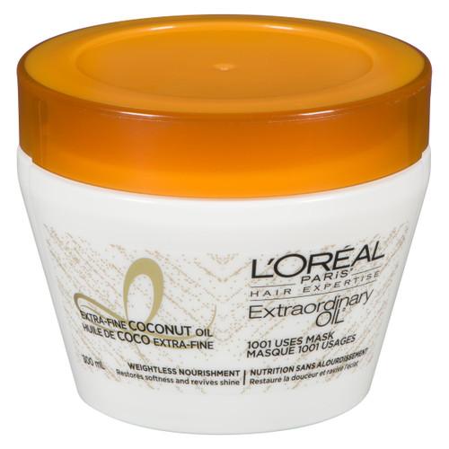 L'Oréal Paris Hair Expertise Extraordinary Oil Masque 1001 Usages Huile de Coco Extra-Fine 300 ml