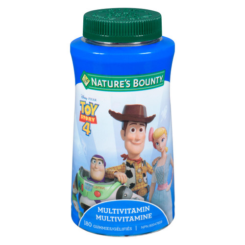 Nature's Bounty Multivitamine 180 Gélifiés
