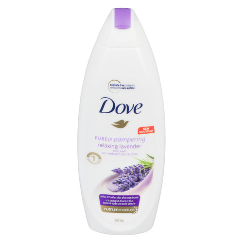 Dove Purely Pampering Soin Nettoyant pour le Corps 650 ml