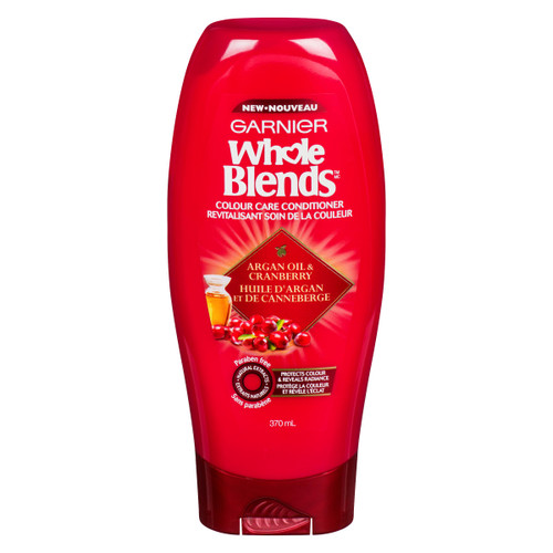 Garnier Whole Blends Revitalisant Soin de la Couleur Huile d'Argan et de Canneberge 370 ml