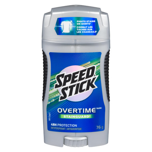 Speed Stick Overtime Antisudorifique Stainguard 76 g