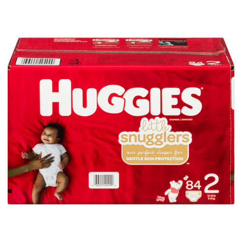 Huggies Little Snugglers Couches 2 5-8 kg 84 Couches