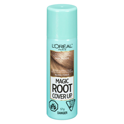 L'Oréal Paris Magic Root Cover Up Spray Correcteur de Racines Instantané Blond Foncé 57 g